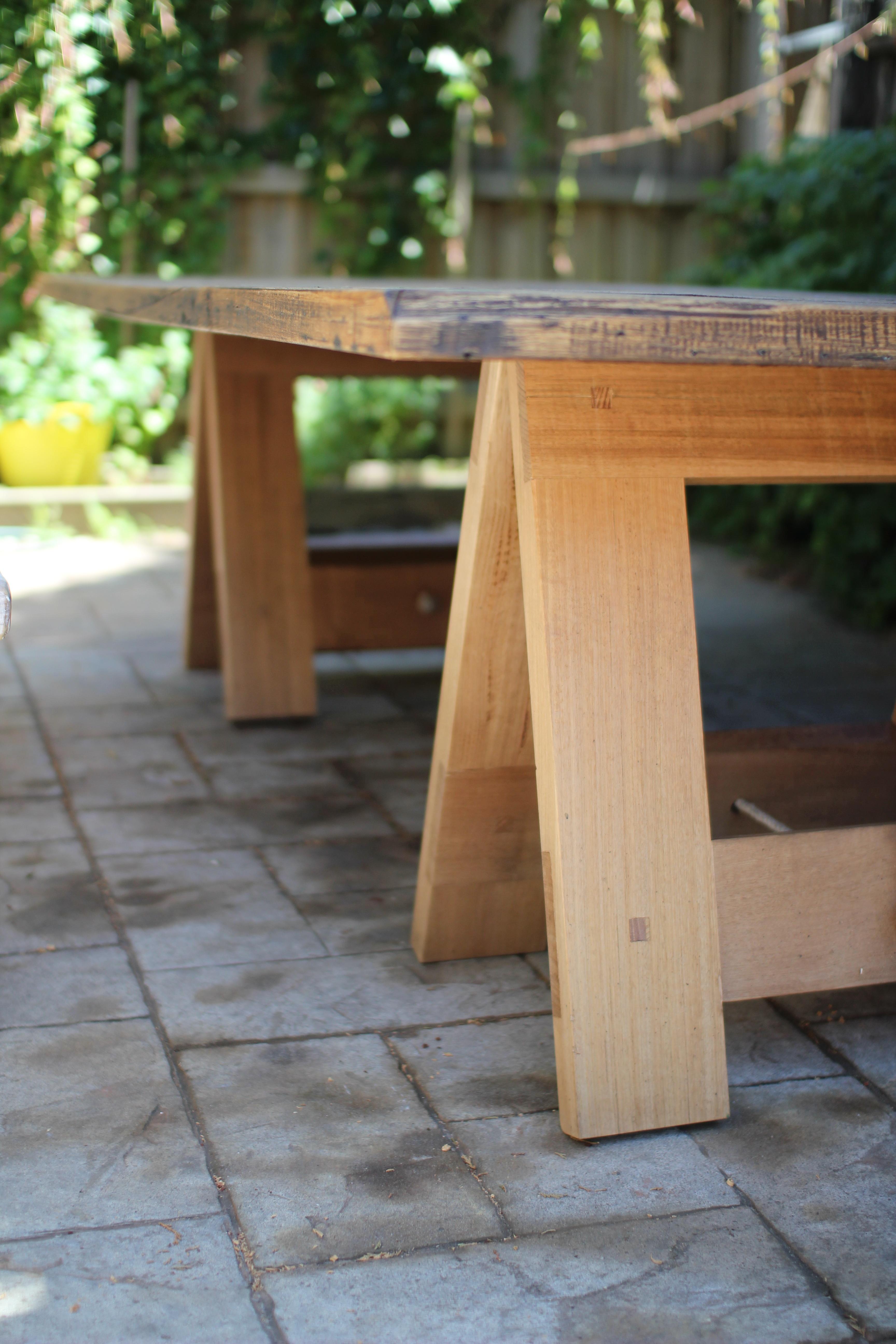 Tasmanian Oak Dining Table – Helm Furniture